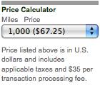 Buy UAL miles
